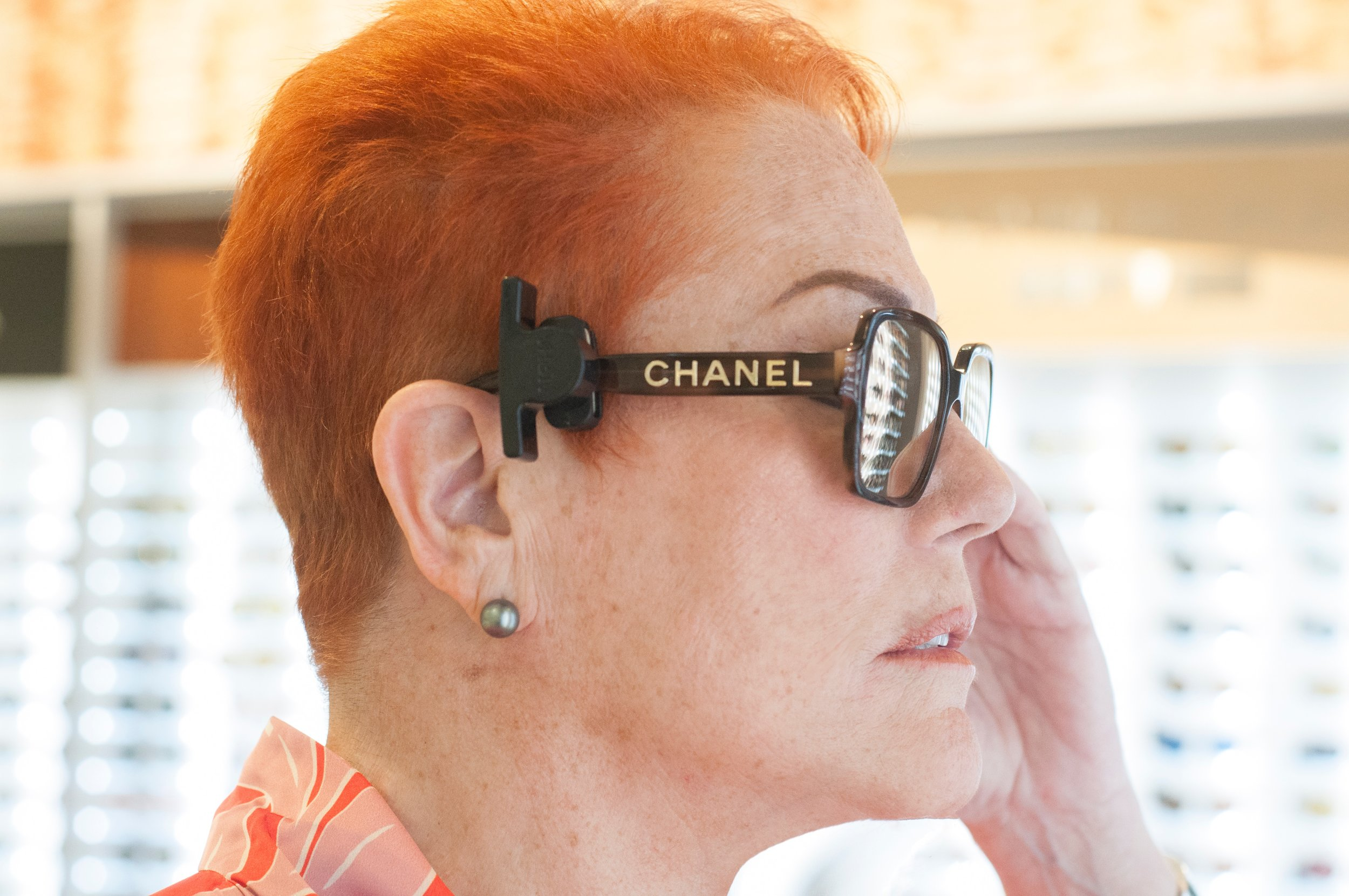 Chanel Sunglasses - Chanel is so innovative! The sunglasses are unusual and fun and always of the moment. For an easy jump from tired to trendy, Chanel has the right pair of sunglasses to perk up any outfit.