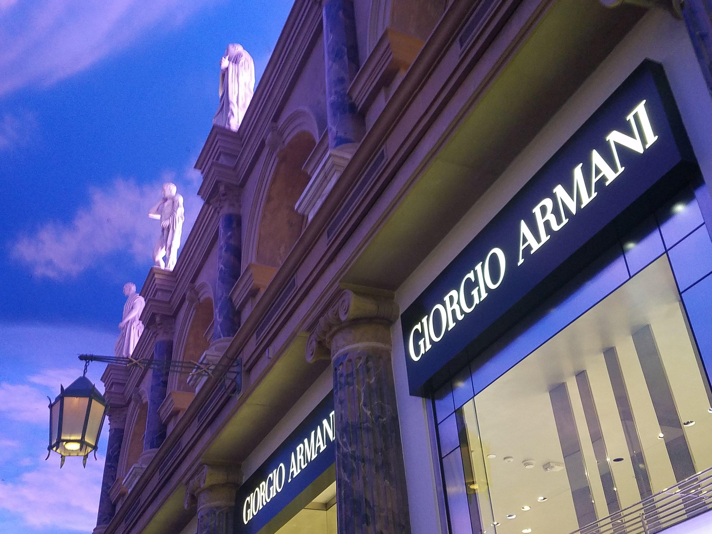 Giorgio Armani - Forum Shops