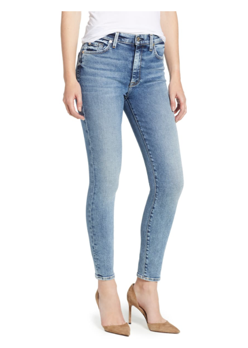Luxe Vintage High Waist Ankle Skinny Jeans - 7 For All Mankind - Nordstrom
