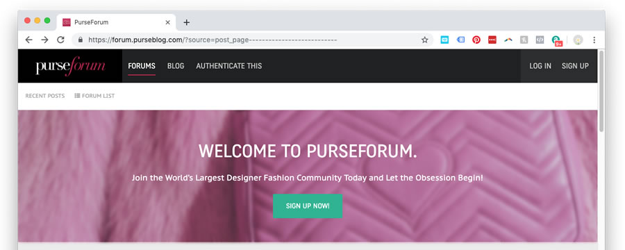 Go to Purse Forum to Satisfy Your Bag Obsession