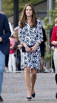Kate Middleton in Stuart Weitzman Wedges