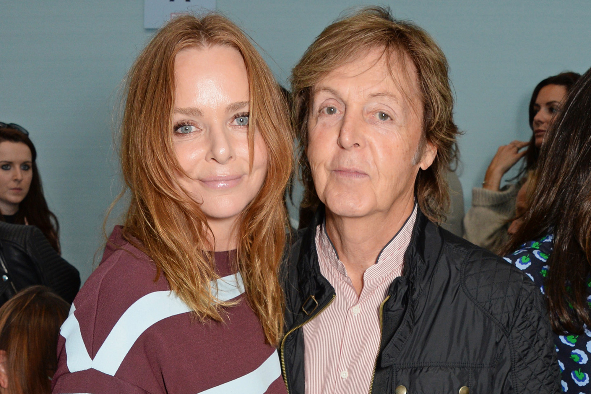 Sir Paul and Dame Stella McCartney