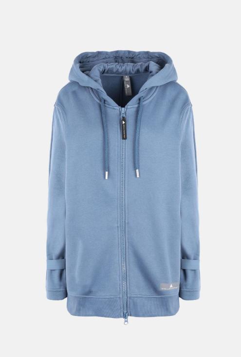Blue Essentials Hoodie  Adidas by Stella McCartney