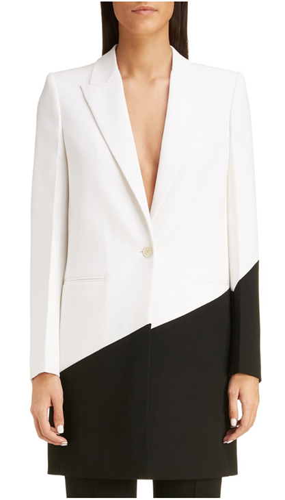 Long Bicolor Wool Blazer  GIVENCHY - Nordstrom ($3155.00)