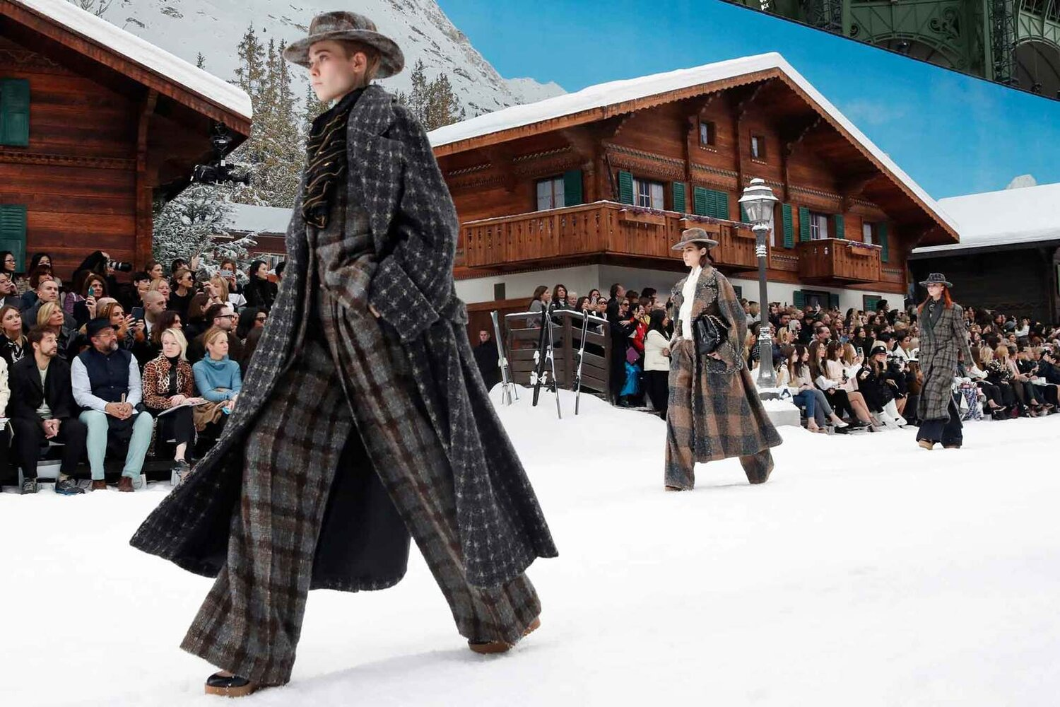 Chanel ready to wear Fall-Winter 2019-2020 collection (AP Photo/Thibault Camus)