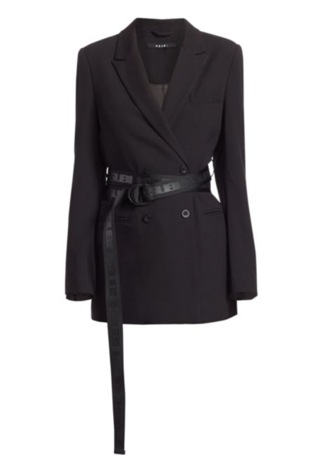 Ksubi - Sign of the Times Racy Belted Blazer Jacket - Saks Fifth Avenue - $450