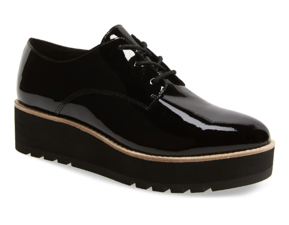 Eddy Derby Black Patent Leather - Eileen Fisher - Nordstrom