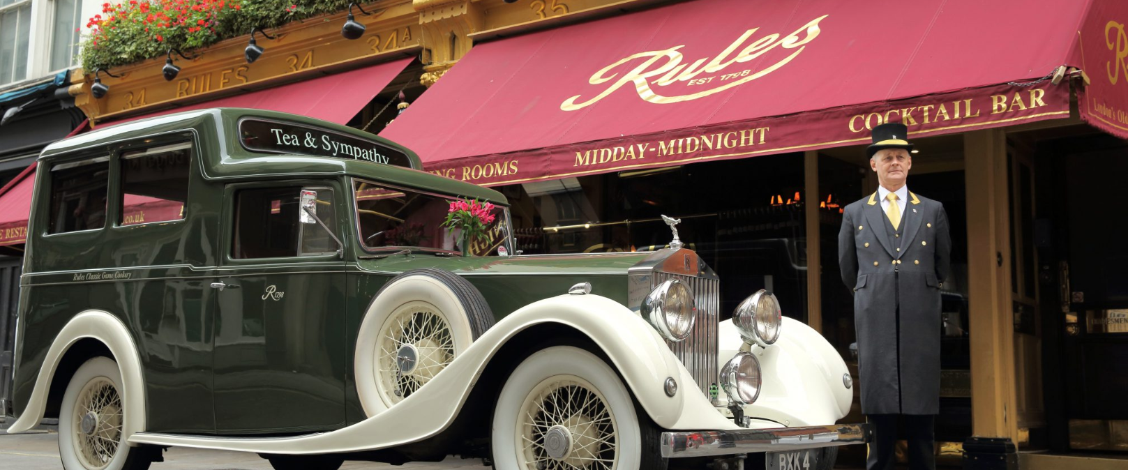 When in London . . .  Rules  - The Oldest Restaurant in London