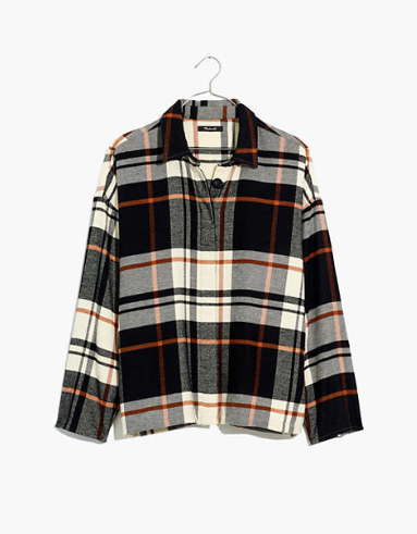 Bromley Flannel Shirt - Madewell - $88