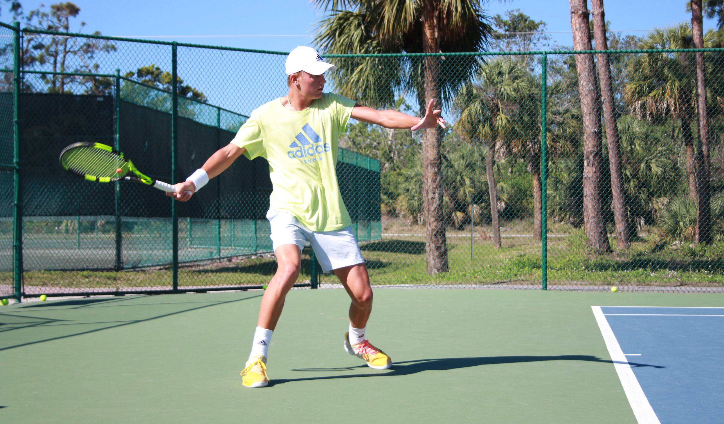 FULL-TIME ACADEMY - Our Academy trains year round, six days per week with 38 hours of combined tennis and fitness training each week