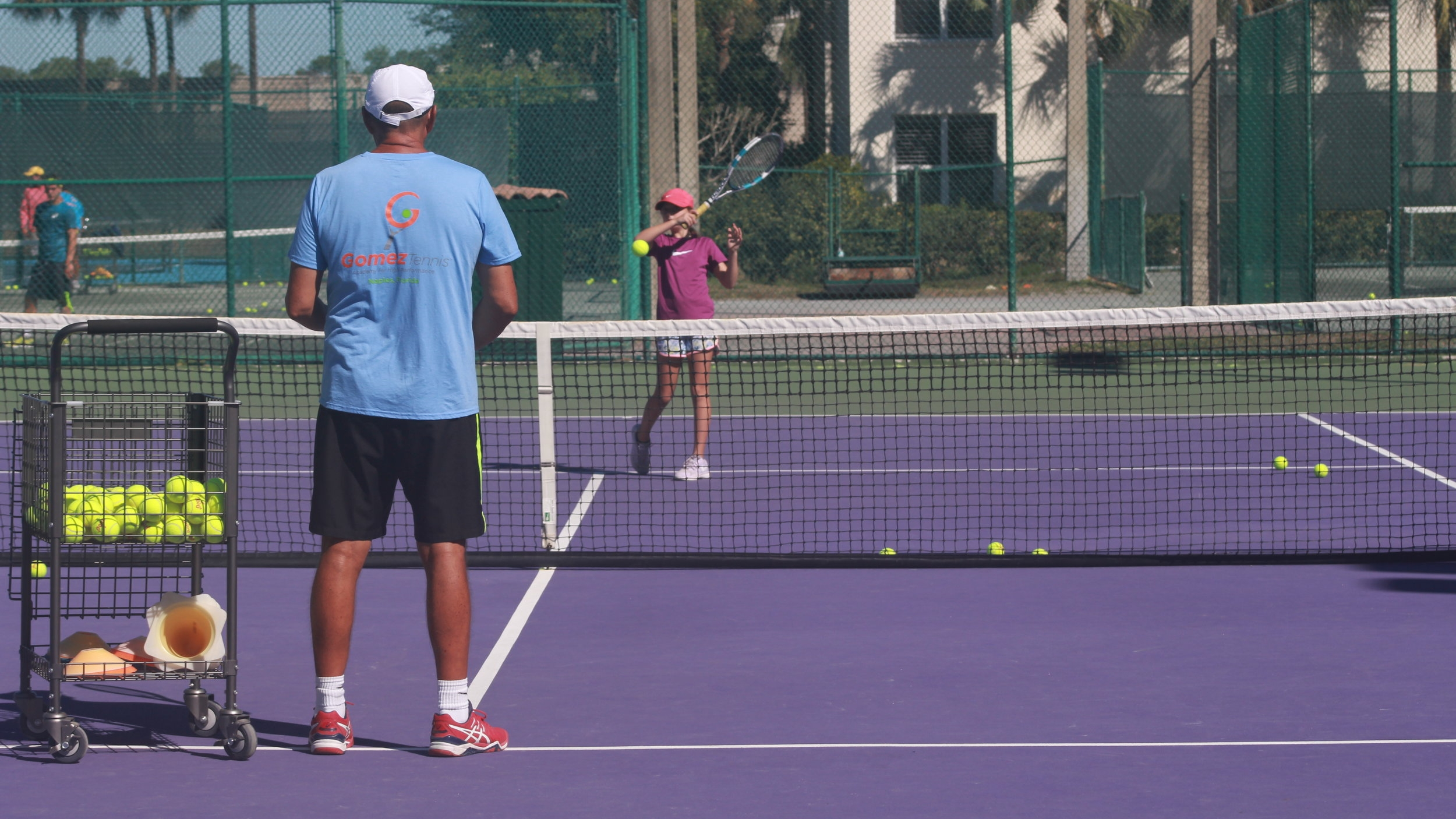 AFTERNOON  ACADEMY - Offers young players, typically 12 & under, the opportunity to develop the proper technique & movement for a lifetime of tennis.