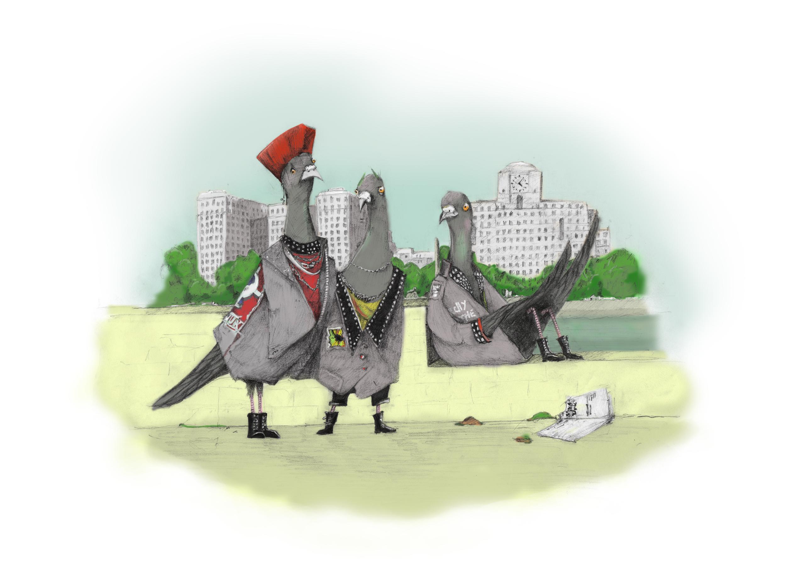 Punk Pigeons