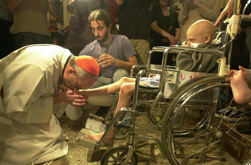 Cardinal Bergoglio changing the world.