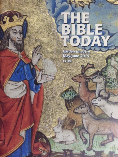 Click image to read my article about Jesus' Agony in the Garden in  The Bible Today.