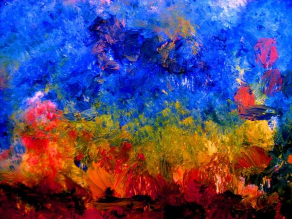 Storm on Fire  by Allen n Lehman