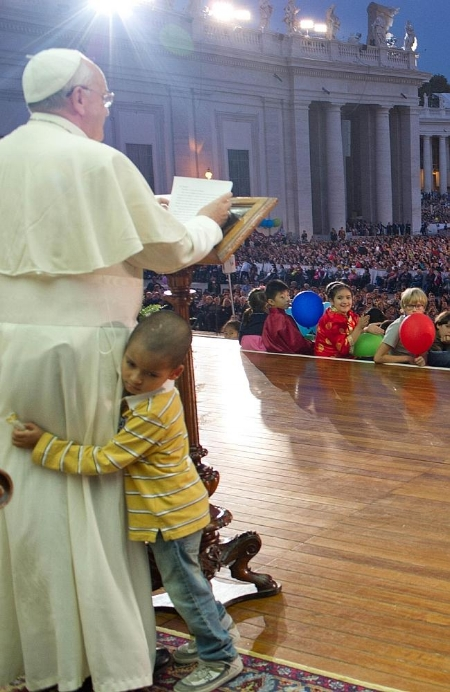 Pope Francis has his own world-wide family that creates its own challenges.  Remember this little guy?