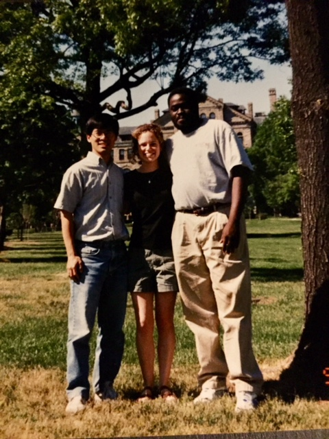 Okay, maybe we've all changed just a little bit. Ivan, Amy, Ono. CUA 1999. People last forever.