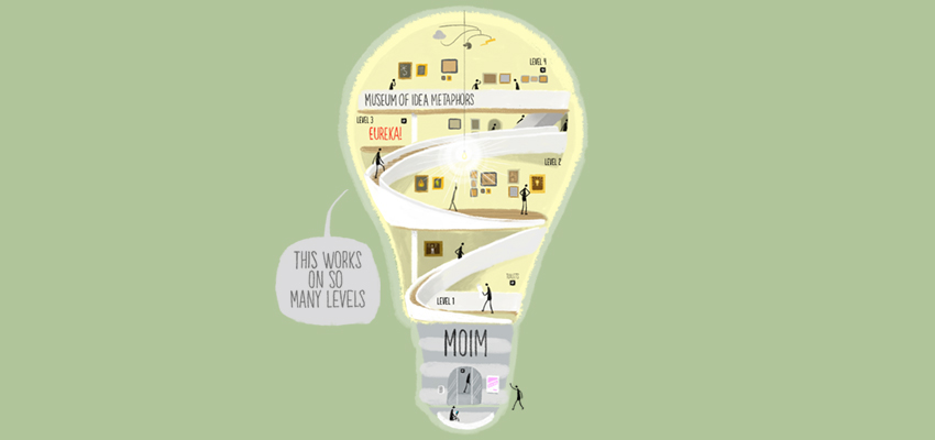 Light bulb as metaphor - illustration by Cognitive Media