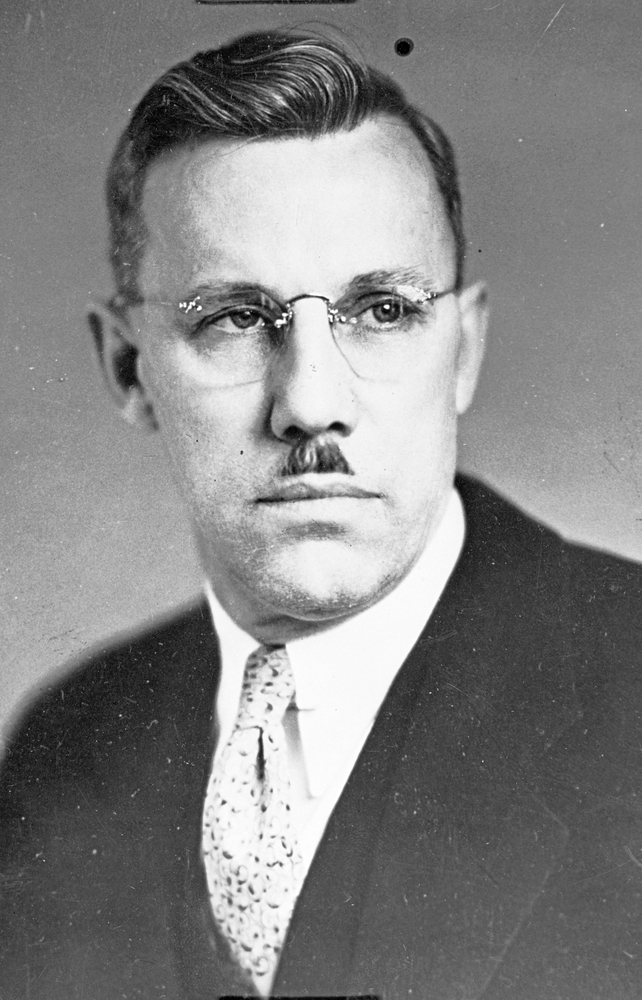 Conde B. McCullough in 1935. Photo: Oregon Historical Society Research Library.