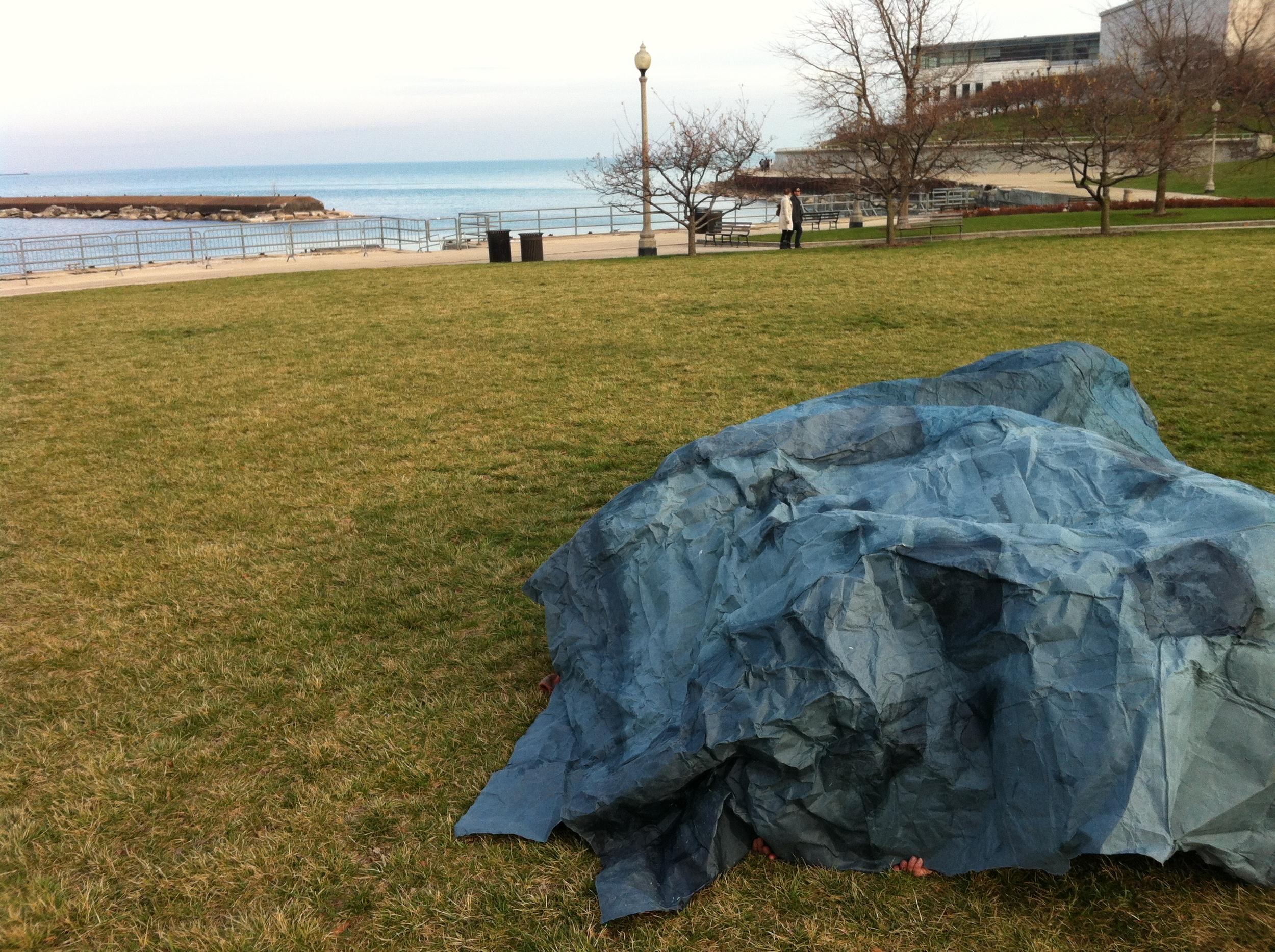 Star Blanket at Lake Michigan