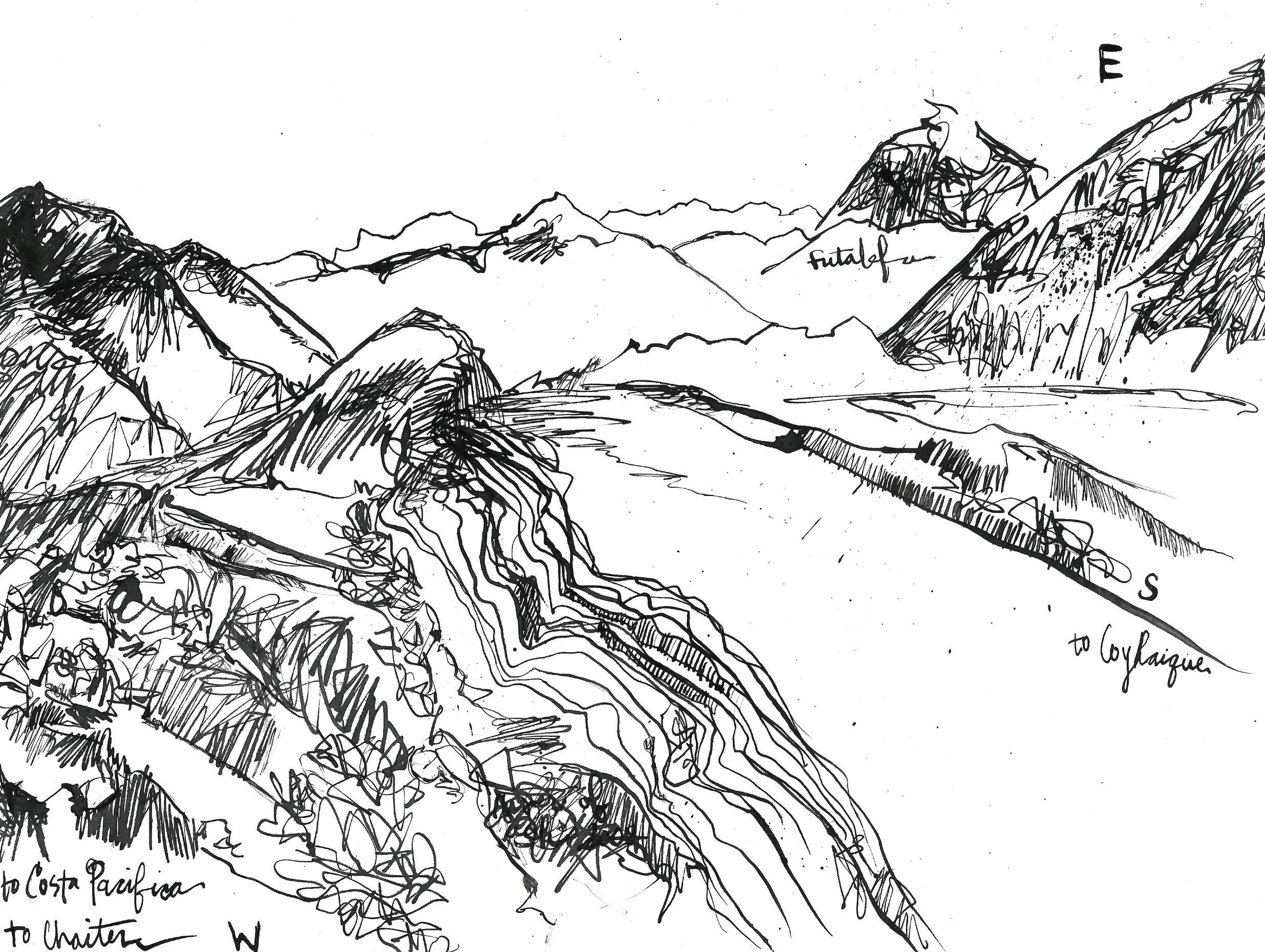 Futalefú Map
