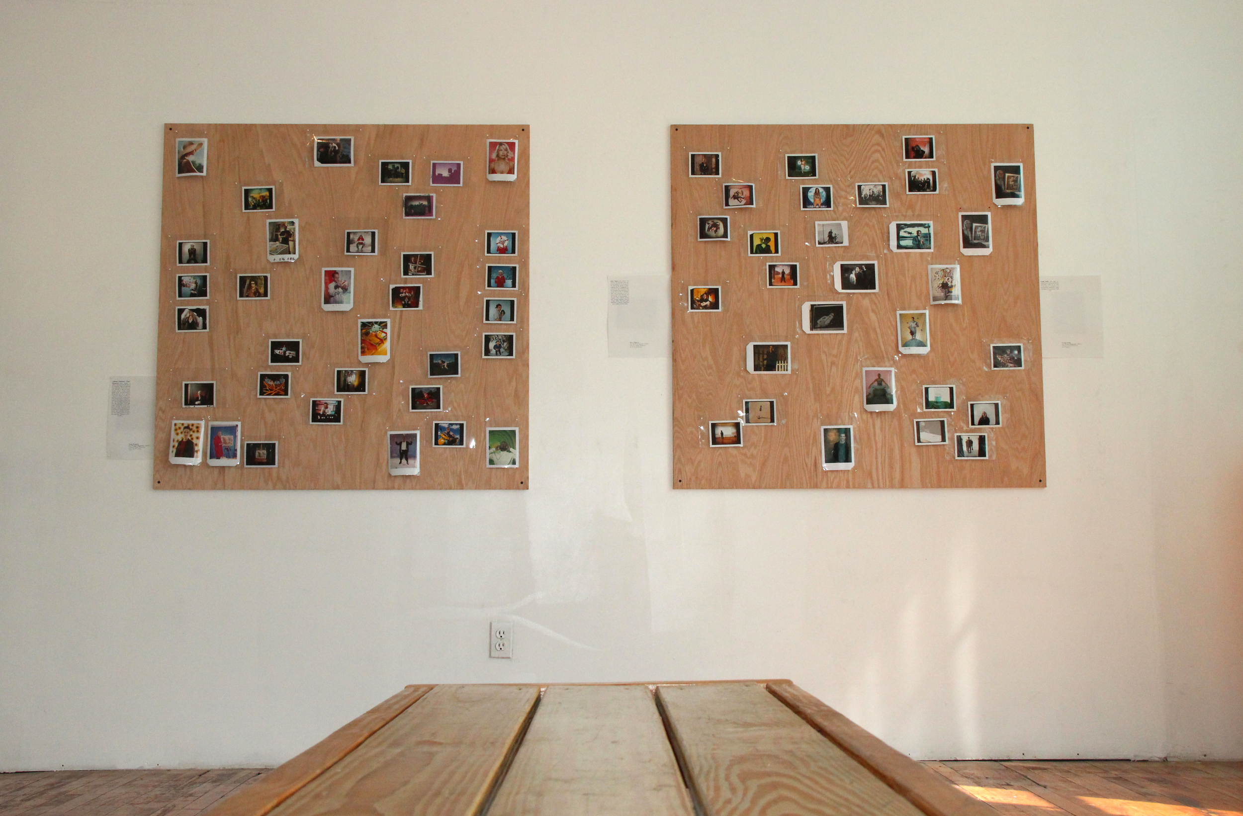 """100 Polaroids From The Turn of The Millennium"" September 2014"
