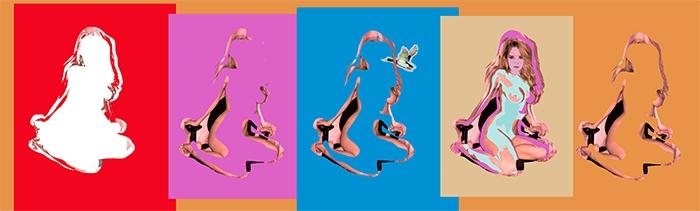 Birds of Color, 2015 archival inkjet print © Rafael Fuchs