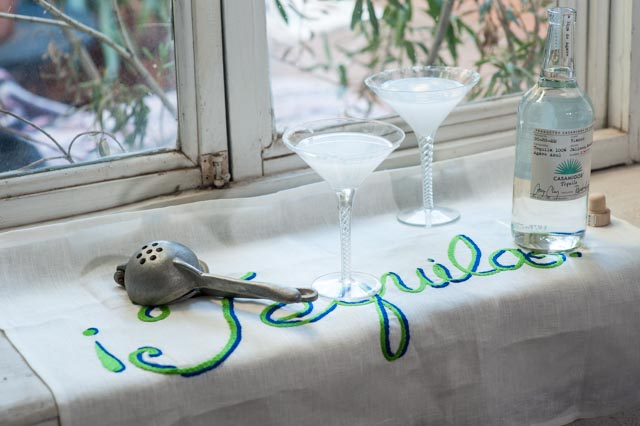 Hand Embroidered Salt Bags and Linen Towels -