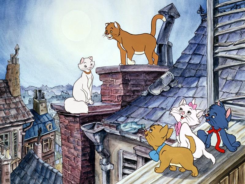 The Aristocats, 1970, Walt Disney
