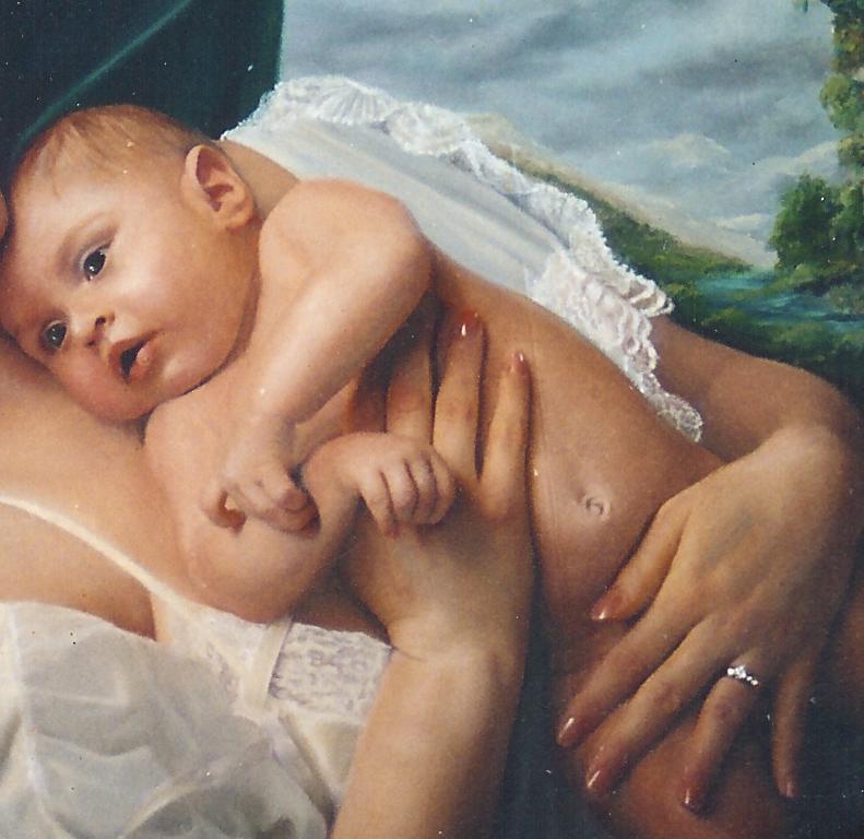 Detail of Infant
