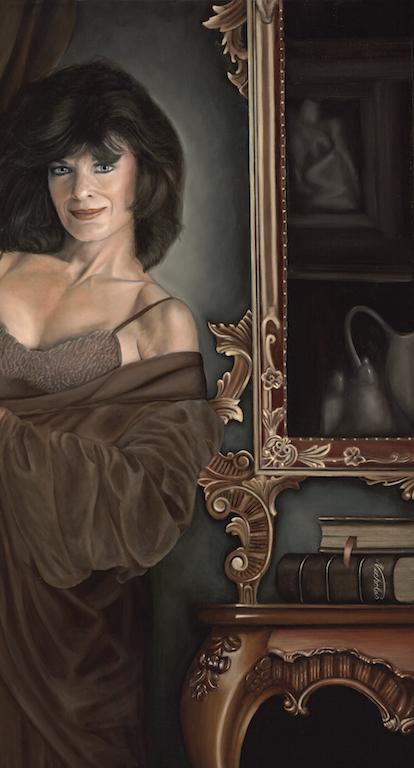 The Boudoir: Oil on Canvas