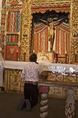 Devotion at Chimayo