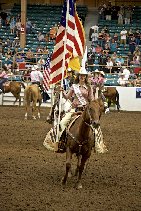 NM State Fair Rodeo grand entry