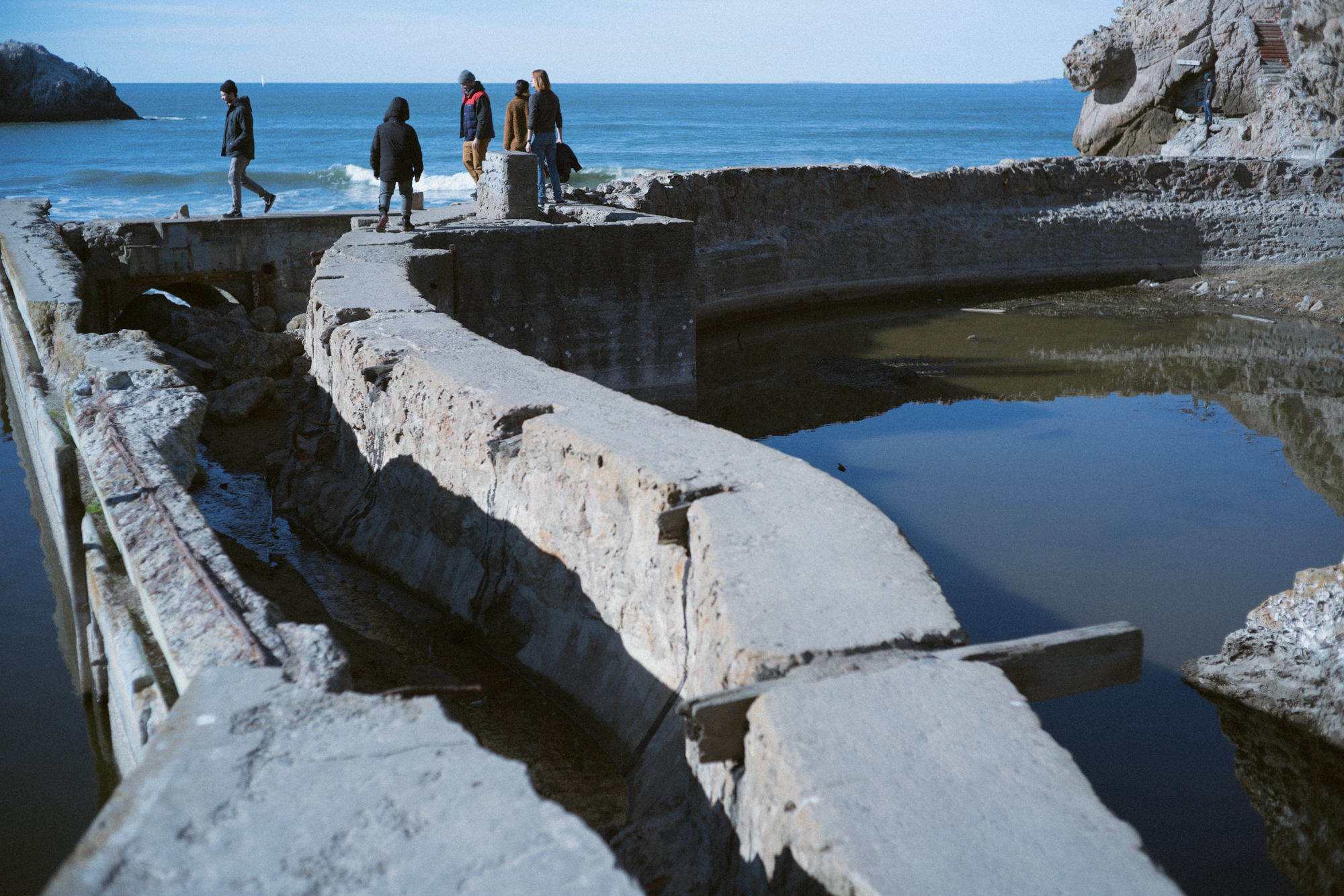 Sutro Bath Ruins, San Francisco, California