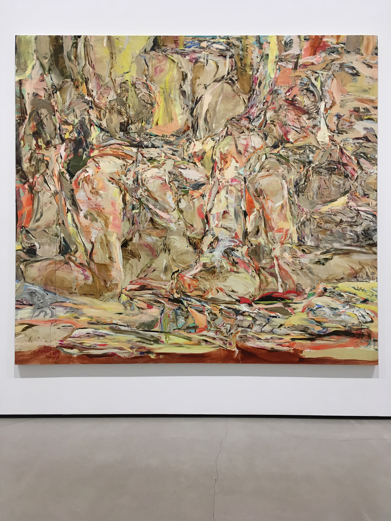 Cecily Brown, Tender is the Night, 1999, Oil on Linen
