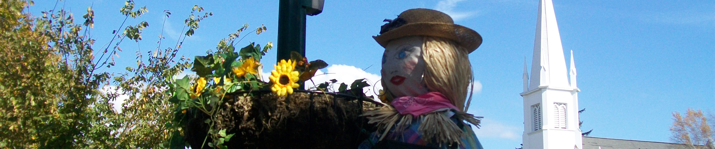 Scarecrows on the Green