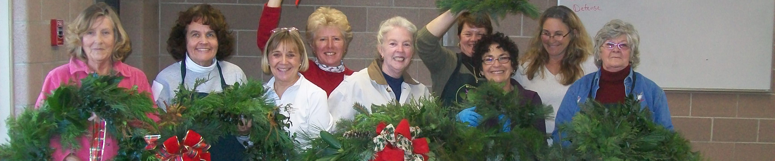 Wreaths for the Library