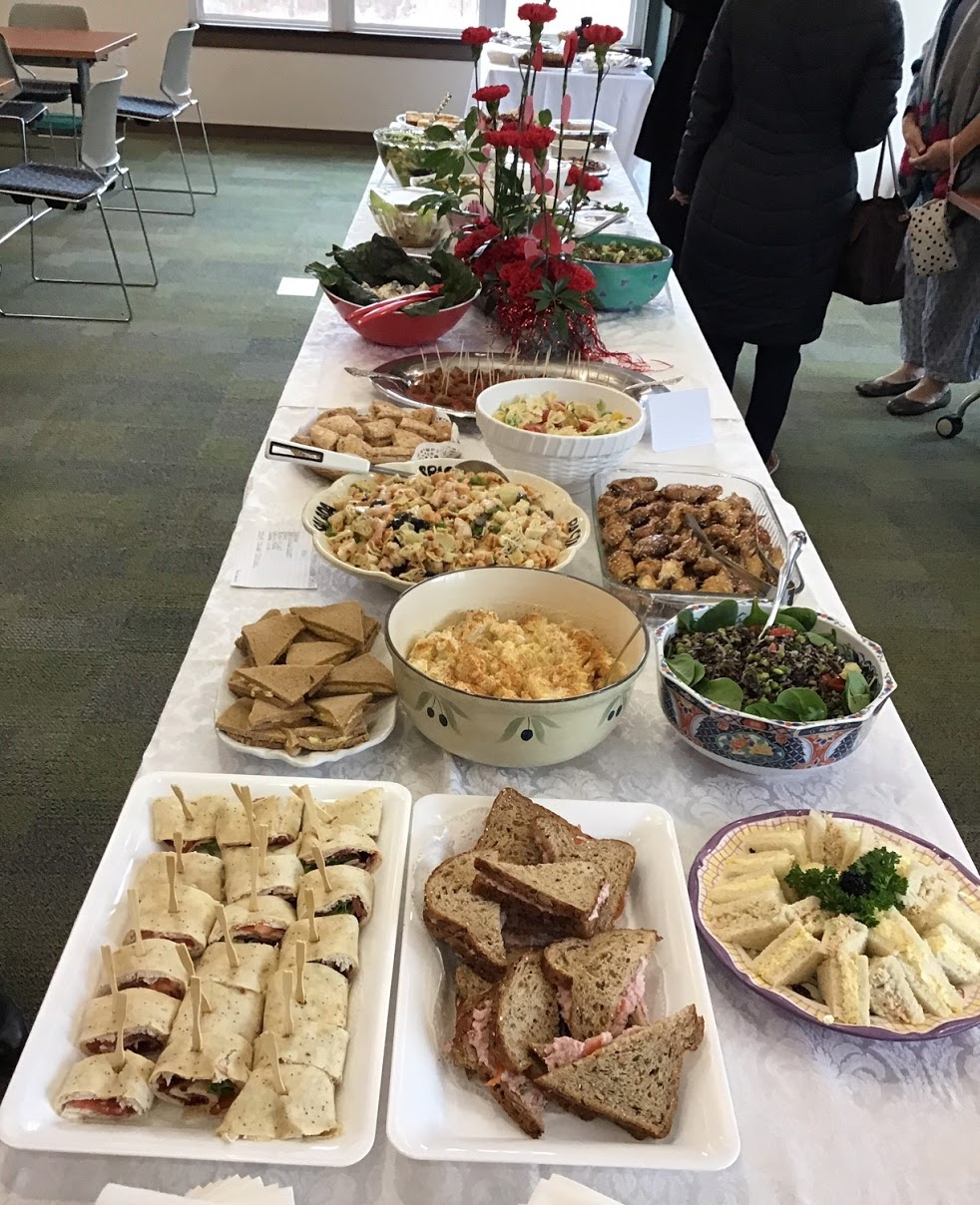 The Yearly Gourmet Luncheon in honor of the winners