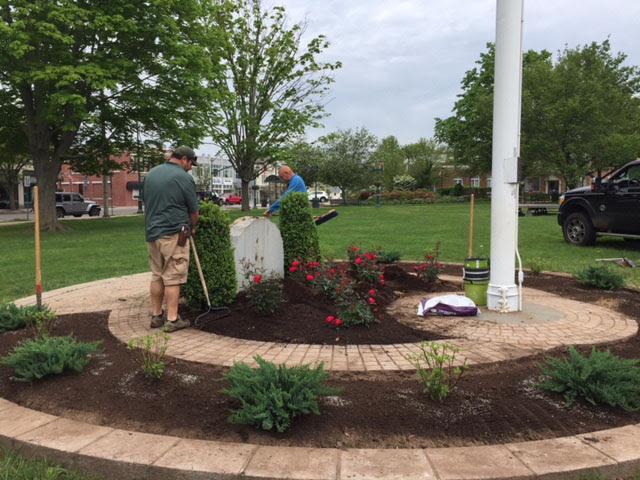 Veterans Garden Renovation