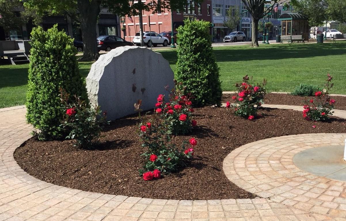 Veterans Memorial Garden Renovation