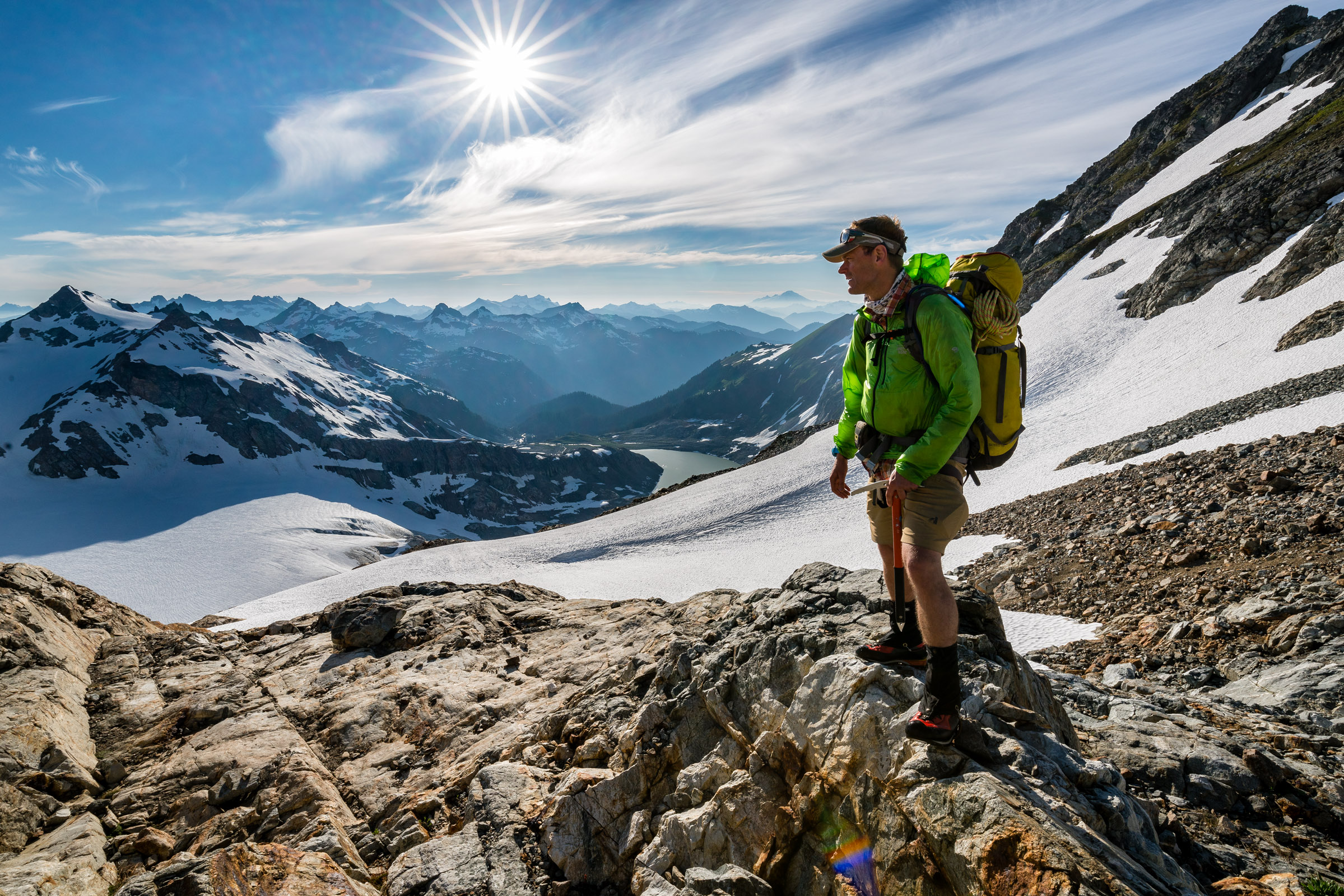 Adventures: Mountaineering and scenery of the Ptarmigan Traverse, a 35 mile alpine traverse in the North Cascades of Washington State