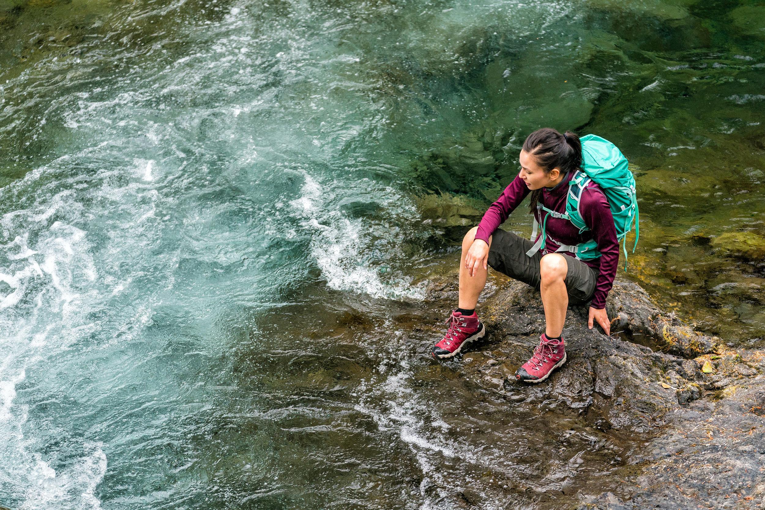 Adventure: Hiking in Olympic National Park in summertime, Mt. Rainier National Park, Washington