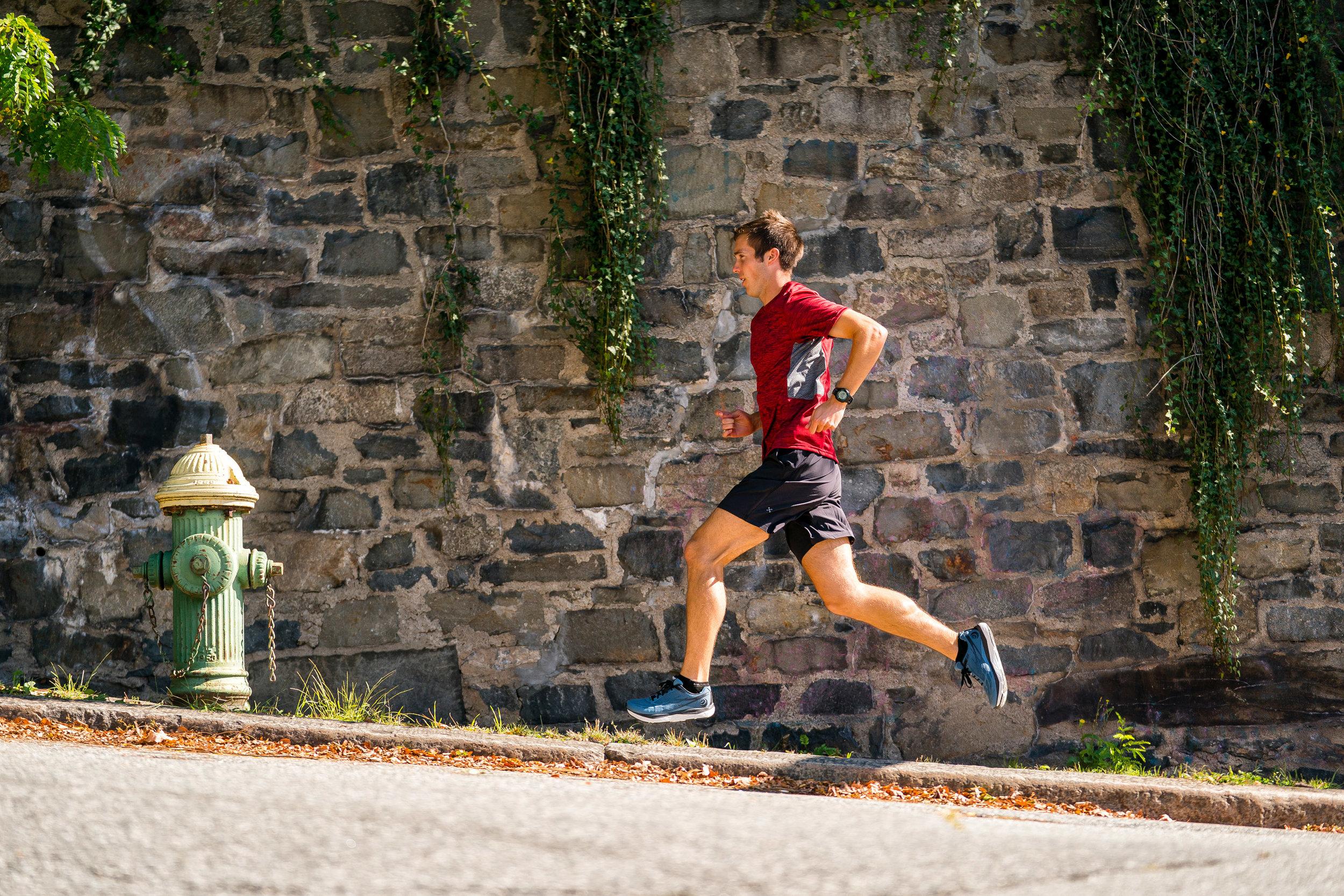 Fitness: Road running in Providence, Rhode Island