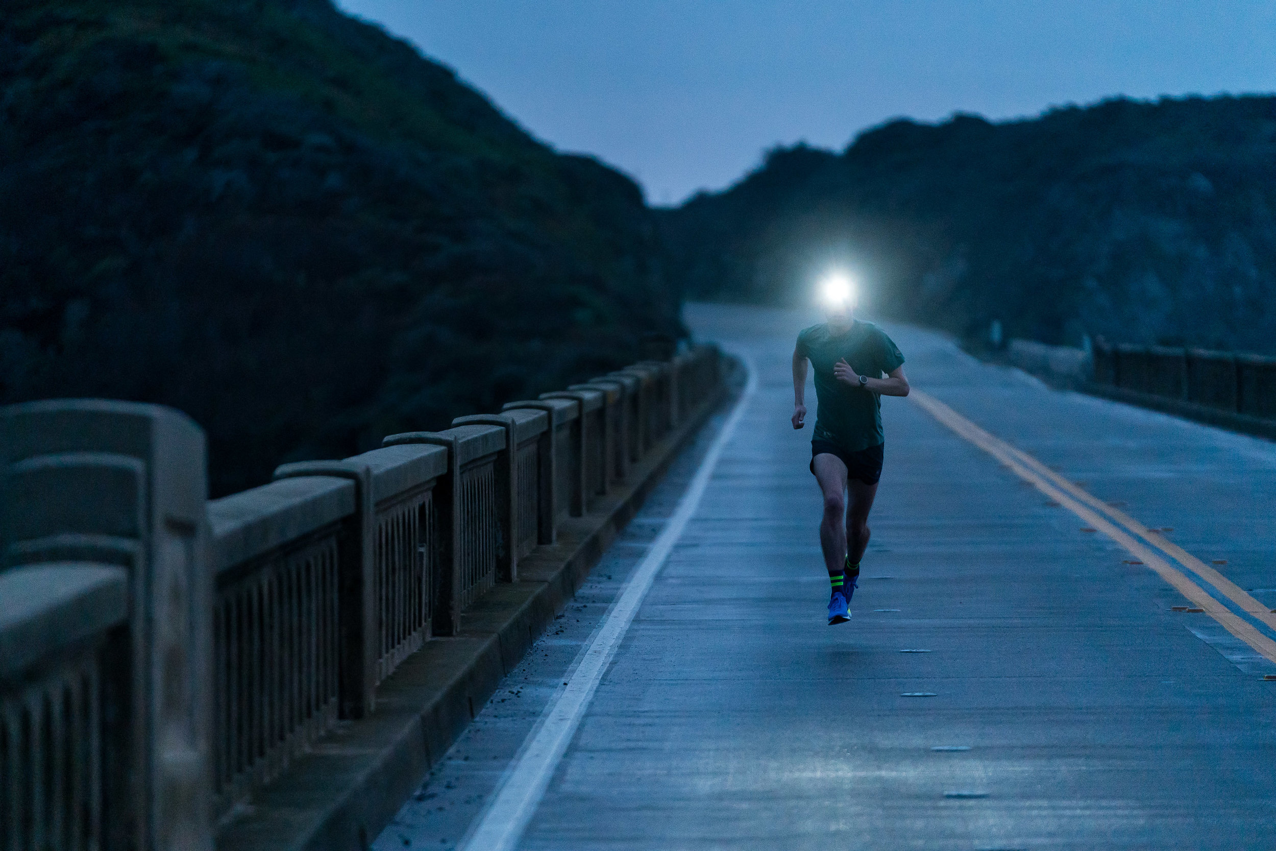 Adventure: Road and trail running along the Big Sur Coast, California