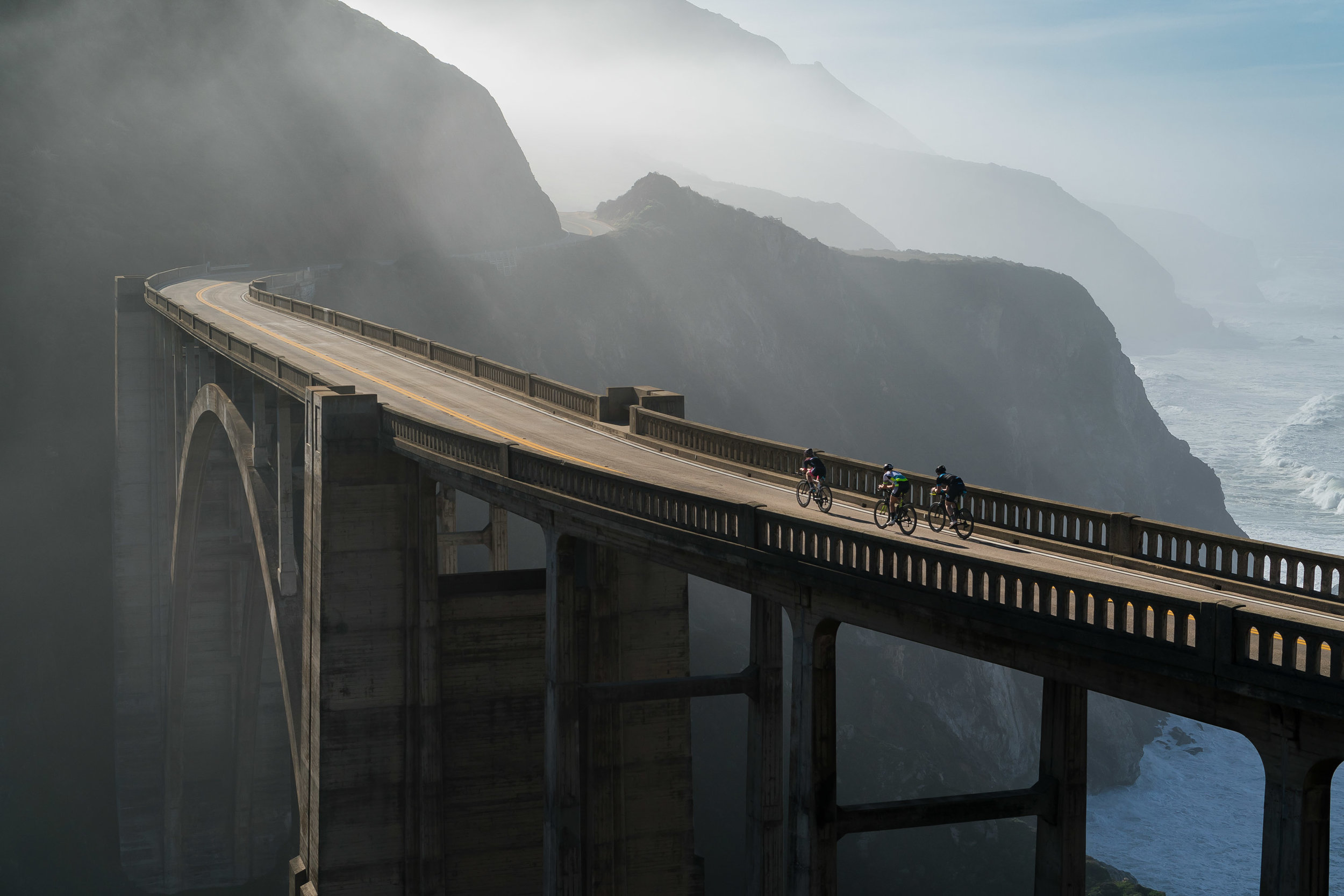 Adventure: Bicycling along the Big Sur Coast, California