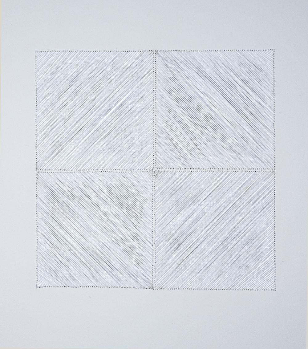 Four Square Square, (detail), 2012