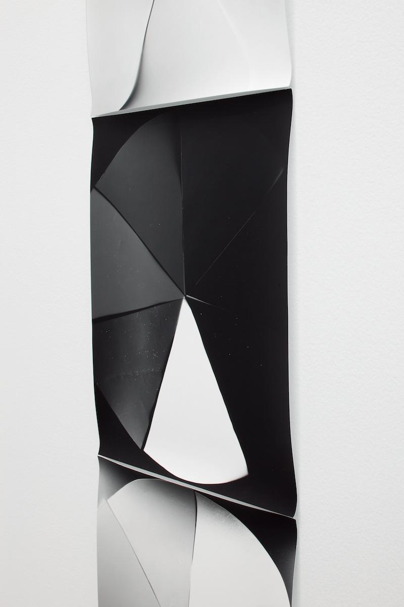 Galerie Praz-Delavallade, Paris Dust, The Plates of the Present Jan 28 - Feb 4, 2017   Black White Rainbow, Color Study  Photogram, 2015