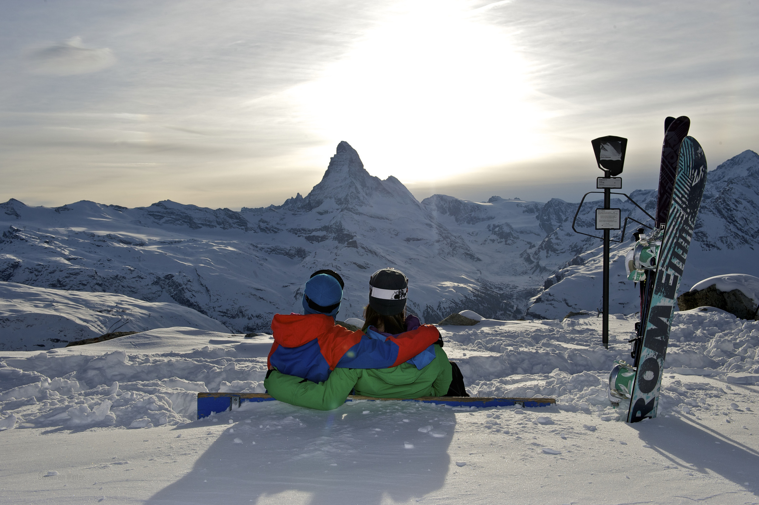 Switzerlands most famous mountain the Matterhorn (© Zermatt Tourism / Michael Portmann)