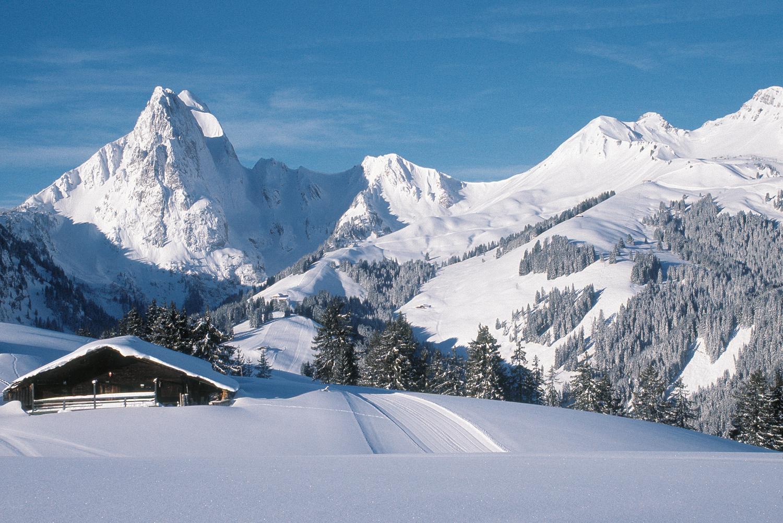 Gufelstock mountain, gstaad