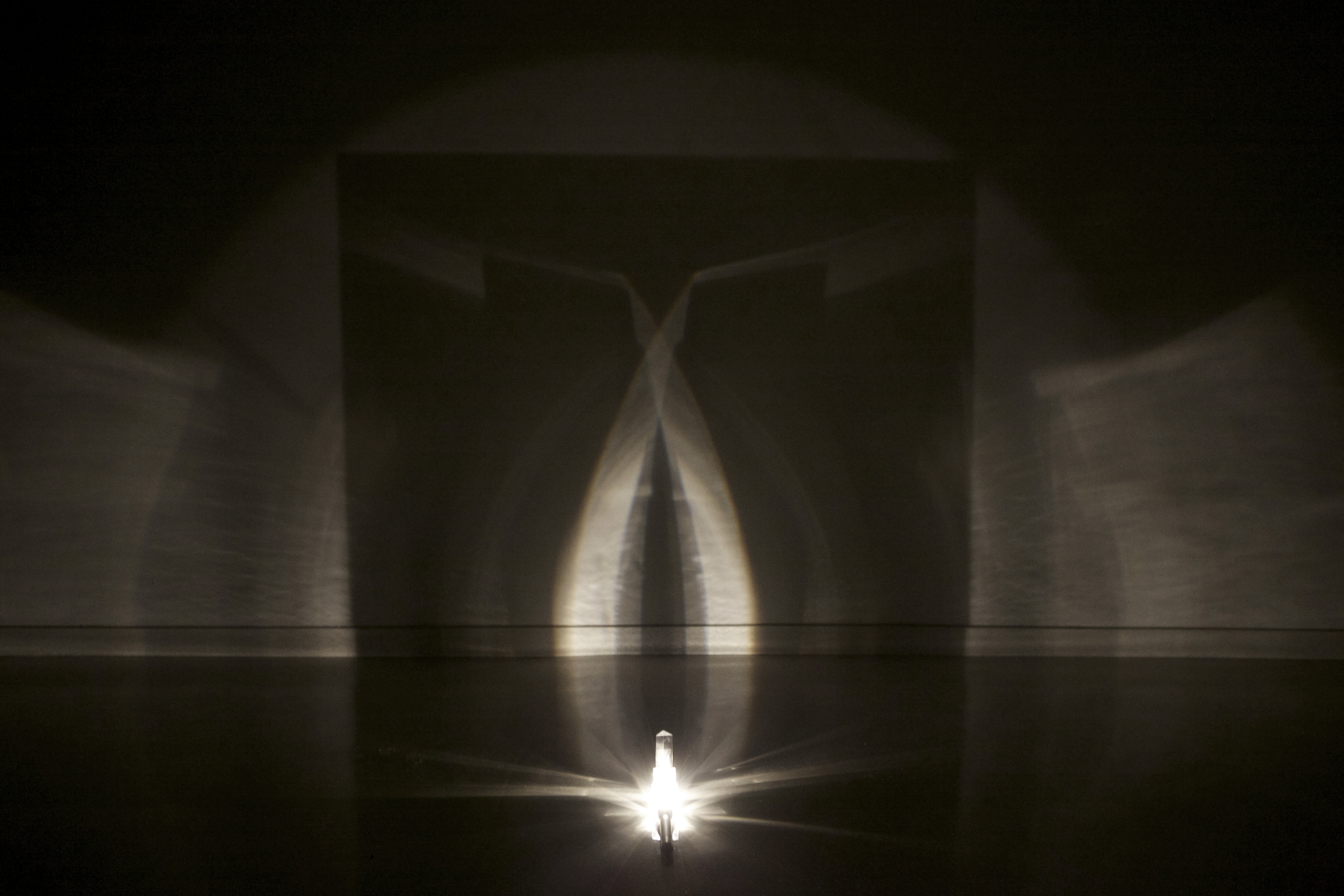 When One Travels Past the Speed of Light, the Great Iris Appears, 2014